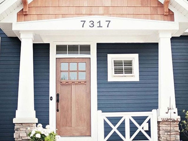 Stained Entry Doors From BlackBerry