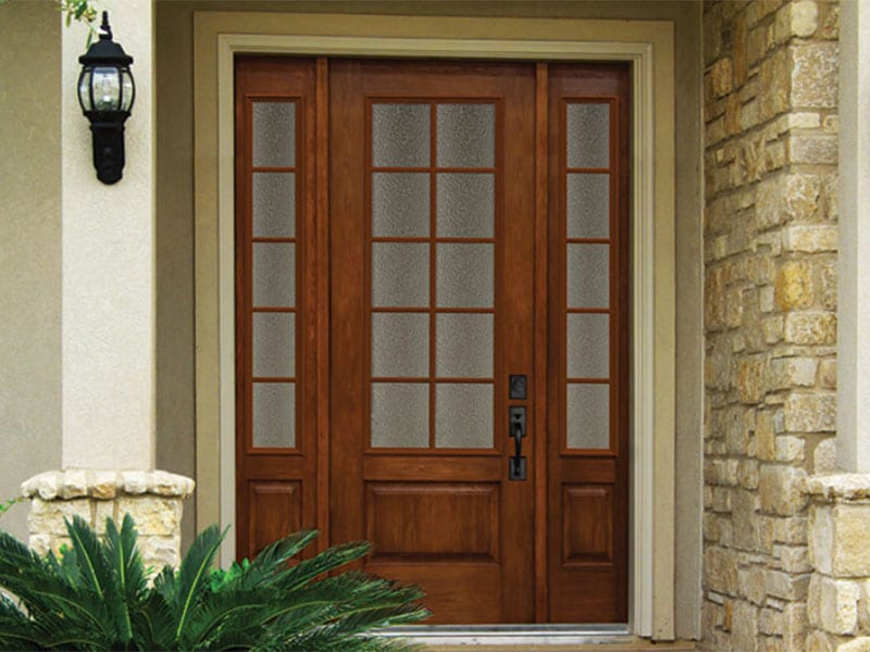 PrismaGuard Stain Quality Entry Doors From BlackBerry