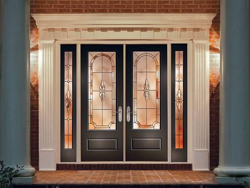 EnLiten flush-glazed designs on Entry Door