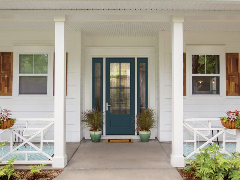 Exterior Glass Entry Doors From BlackBerry