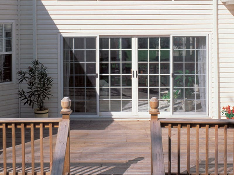 BlackBerry offers high-quality sliding patio doors from Sunrise and Quaker.
