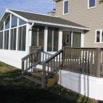 Three Season Sun Rooms with Beautiful Decking | Sunrooms in Kalamazoo
