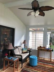 Dream Porch Ideas - New Sliding Windows in Sunroom