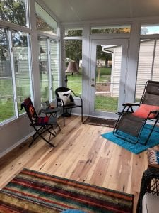 A new sunroom will soon become your favorite living space