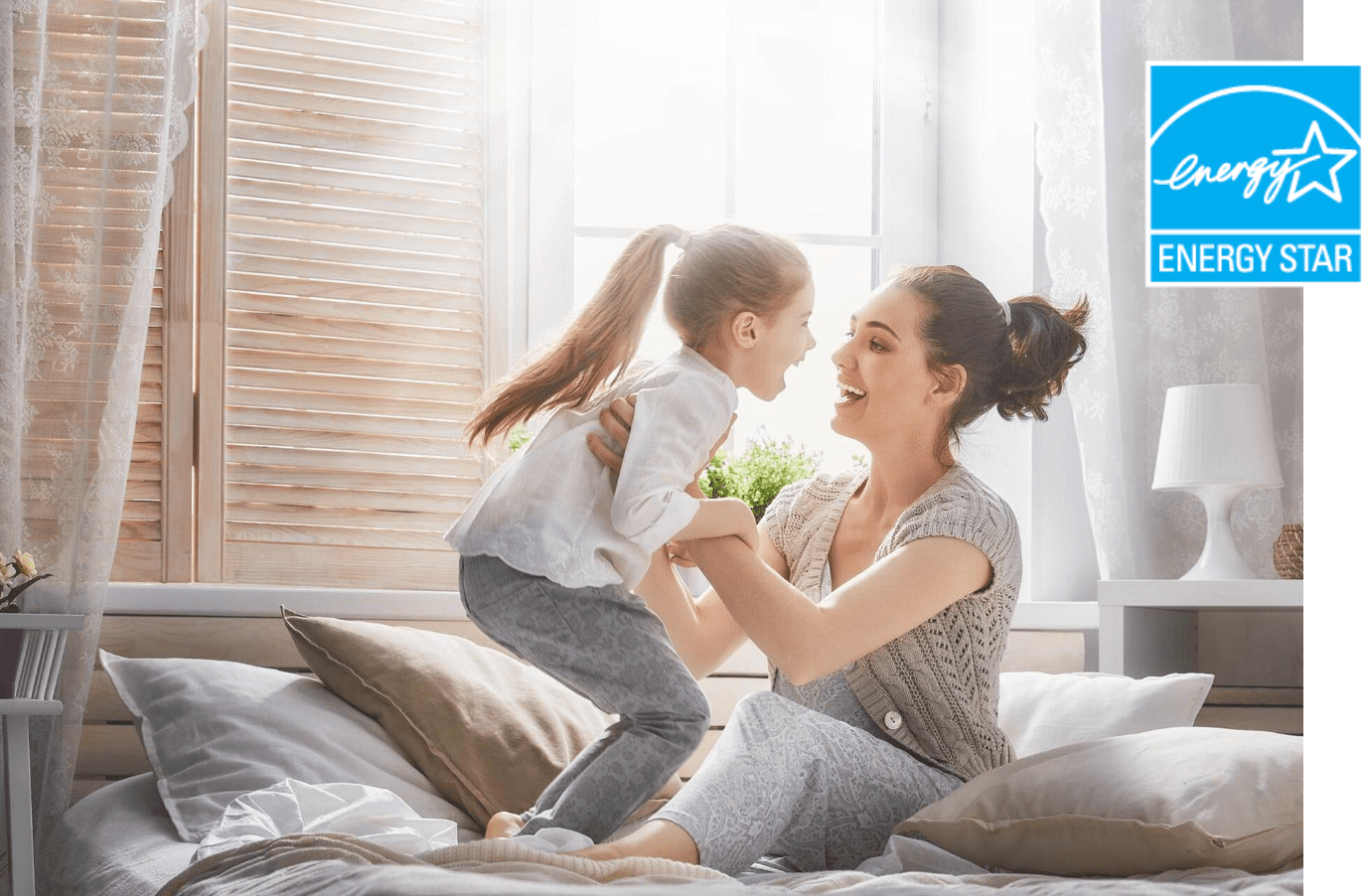 Energy Star Rating Image | Woman and Child
