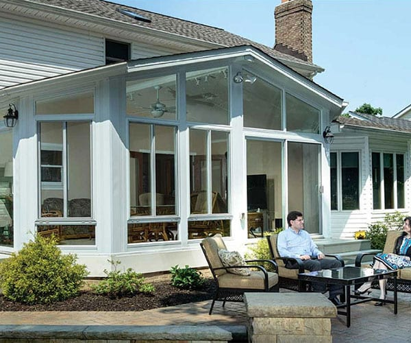 Sunroom by Blackberry - High-performance Energy Star insulated glass