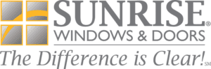 Sunrise Windows & Doors Logo - The Difference is Clear!
