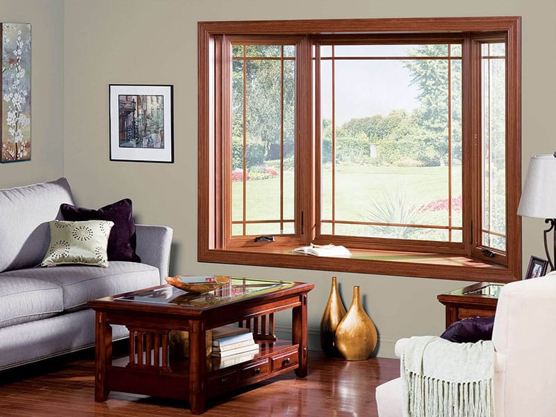 Sunrise offers custom sized bay windows and bow windows to fit any home design.