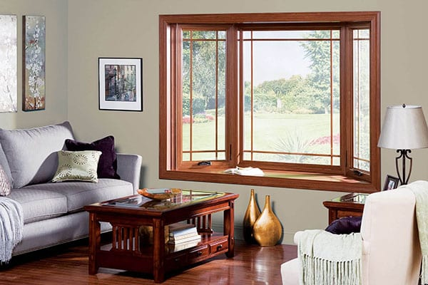 Bay/Bow Vinyl Replacement Windows in Kalamazoo, Grand Rapids, Battle Creek and West Michigan