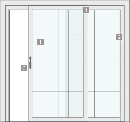 Sliding Patio Door Diagram by BlackBerry