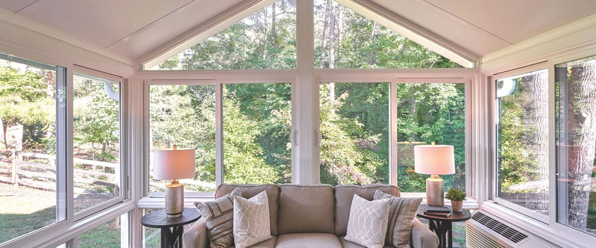 Oasis Sunrooms are custom designed for your home by BlackBerry
