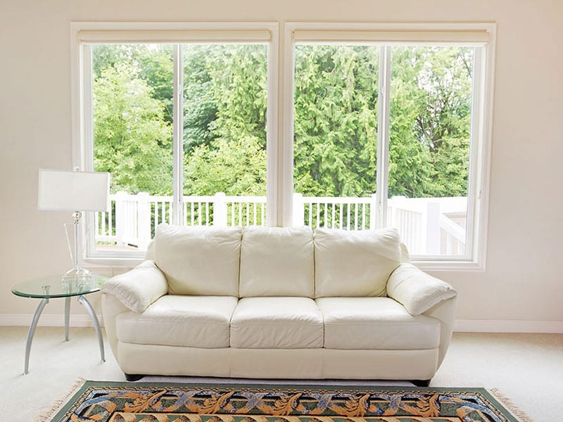 Sliding Vinyl Replacement Windows by Sunrise Windows