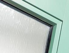 Flush Glazed Entry Door Glass - BlackBerry Systems