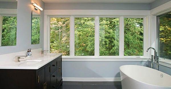 Replace Bathroom Windows - Energy Saving Casement Vinyl Windows by BlackBerry