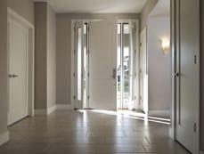 Home With BlackBerry featured Therma Tru fiberglass and steel doors