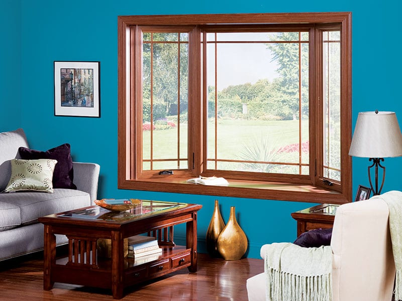 Enhance Your Home With Beautiful Bay Or Bow Vinyl Replacement Windows