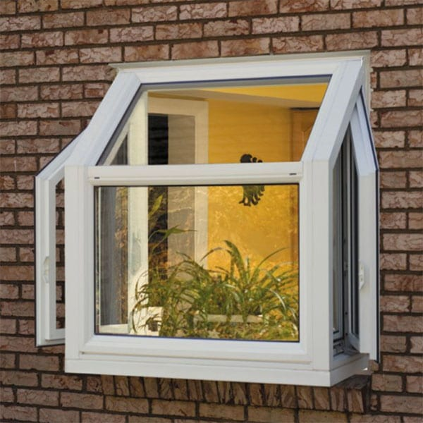 Garden Vinyl Window | A garden window is a lovely way to add natural light, showcase plants, and add character to the home.