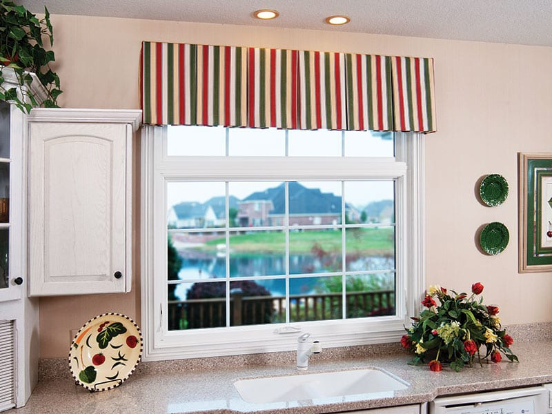 Beautiful Double Hung Windows Perfect for Kitchens