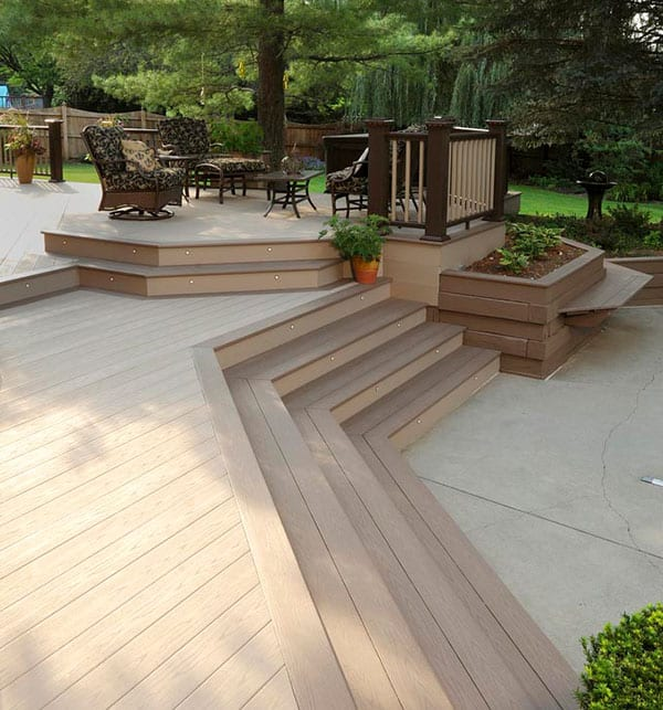 wide- and narrow-width boards - Get the unrivaled beauty and durability of capped composite and capped polymer decking.