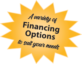 BlackBerry offers a variety of financing options, tailored to meet your needs and get your home improvement project going!