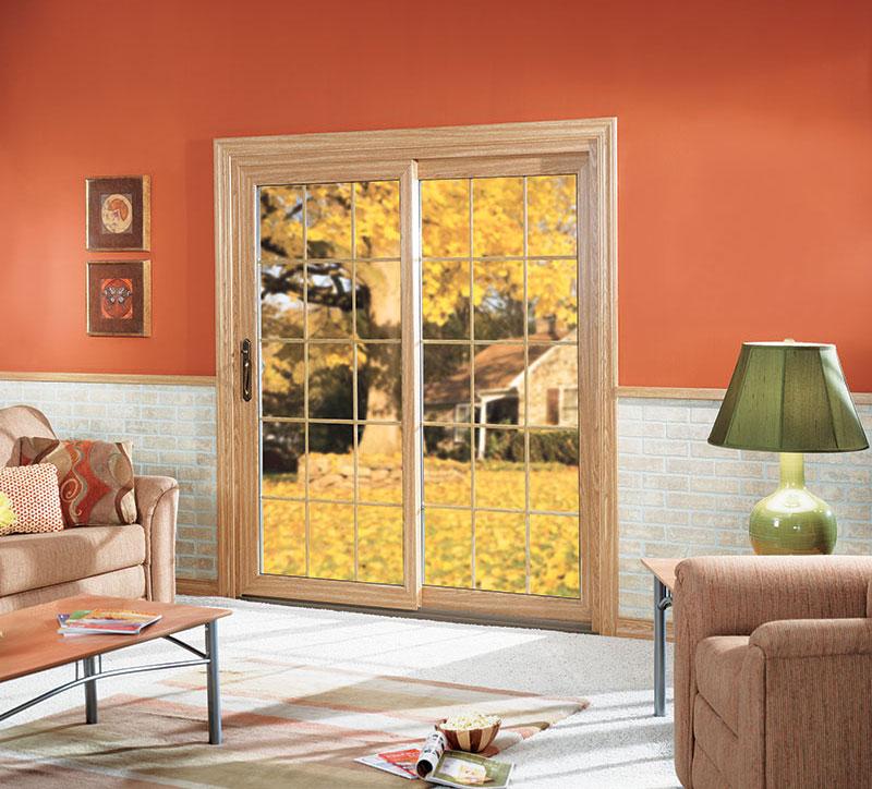 Premium, low-maintenance, energy efficient vinyl patio door